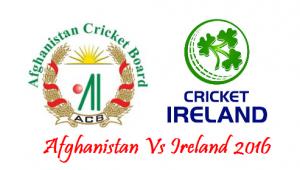 Ireland v Afghanistan