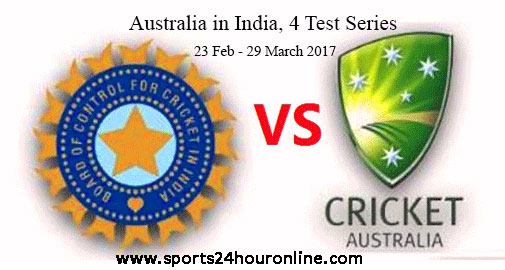 India vs Australia First Test Live Score