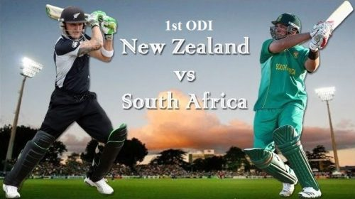 New Zealand vs South Africa ODI