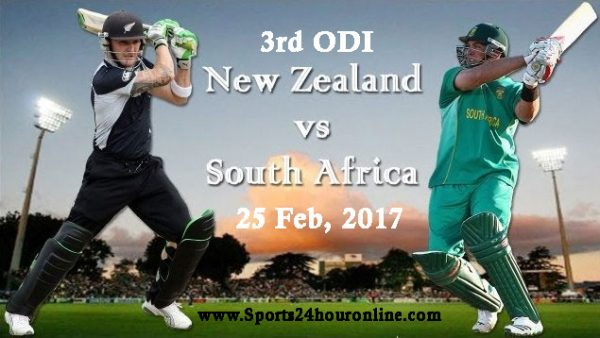 NZ vs SA 3rd ODI
