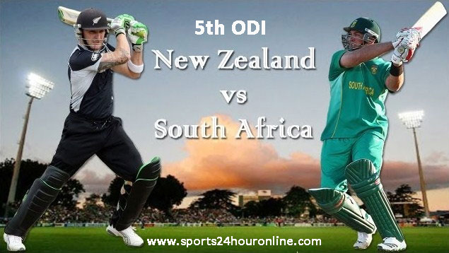NZ vs SA 5th ODI