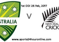 NZW vs AUSW 1st ODI Live Streaming