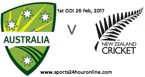 NZW vs AUSW 1st ODI Live Streaming 26 Feb, 2017