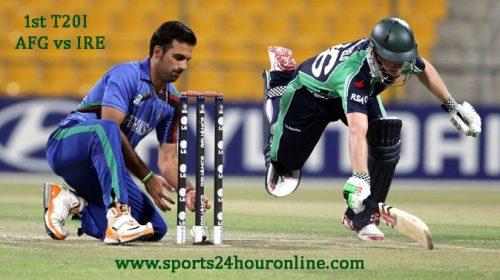 AFG vs IRE 1st T20I