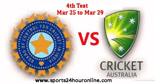 India vs Australia Fourth Test