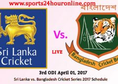 SL vs BAN 3rd ODI Live Score Online Streaming April 01, 2017