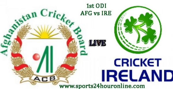 AFG vs IRE 1st ODI Live Cricket Streaming