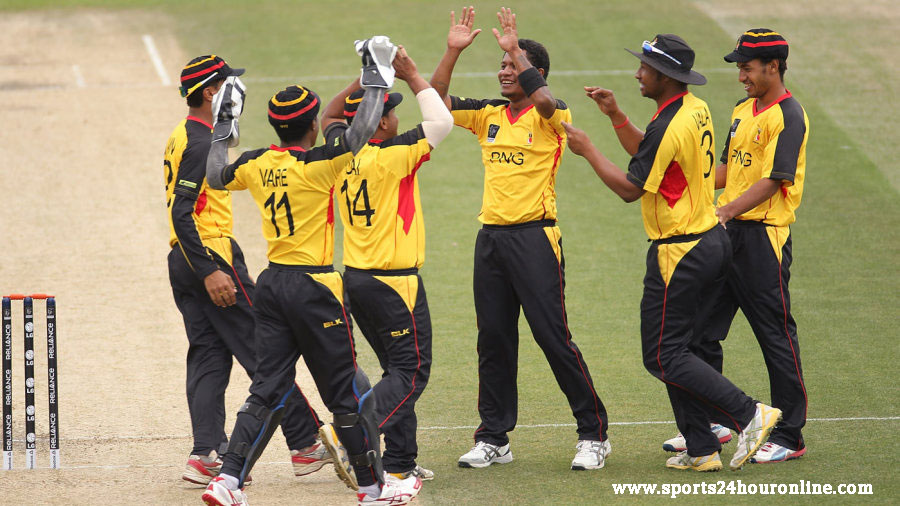 United Arab Emirates vs Papua New Guinea Live Score April 07, 2017