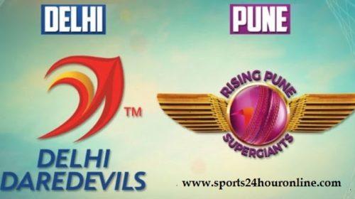 DD vs RPS Today Live IPL Match