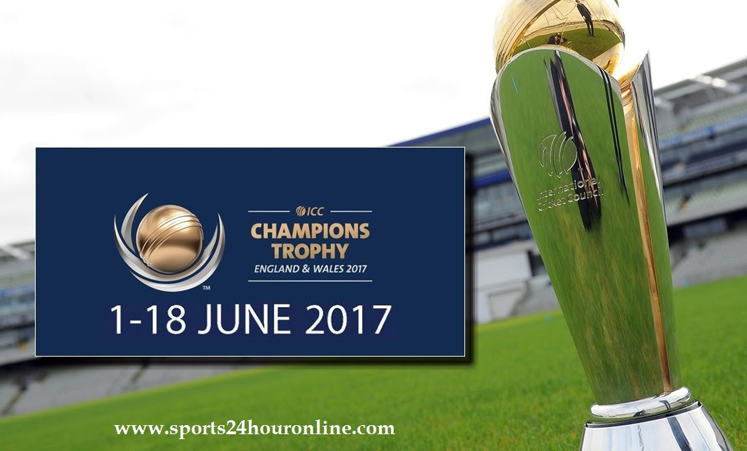 ICC Champions Trophy 2017 Matches Schedule, Time, Venue