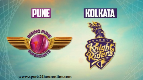 KKR vs RPS Today Live IPL Match