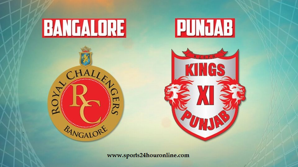 RCB vs KXIP Today Live Telecast