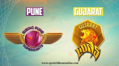 RPS vs GL Today IPL Live Coverage