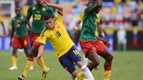Cameroon vs Colombia