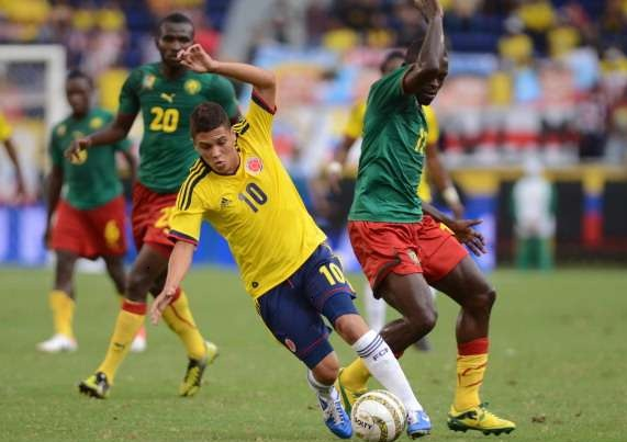 Cameroon vs Colombia Today Live Stream, Score, Friendlies Series