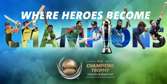 ICC Champions Trophy Live Telecast TV Channels Info List