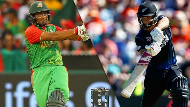 NZ vs BAN Live Streaming Match Of ICC Champions Trophy 2017