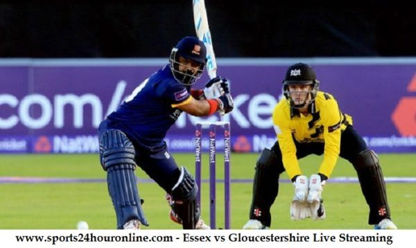 Essex vs Gloucestershire Live Streaming