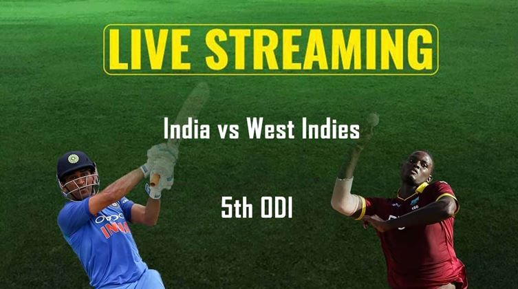IND vs WI 5th ODI Live Streaming Match Preview Today