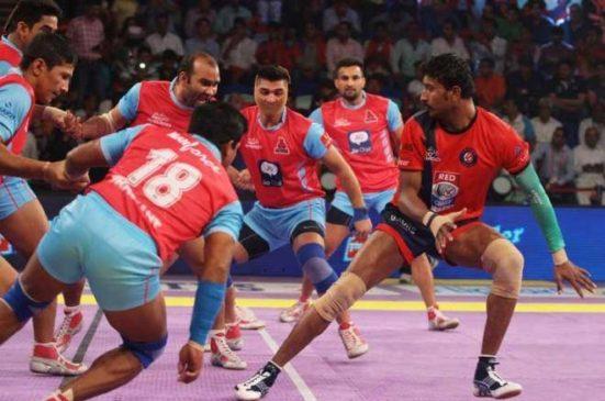 Jaipur Pink Panthers vs Dabang Delhi K C Live Stream