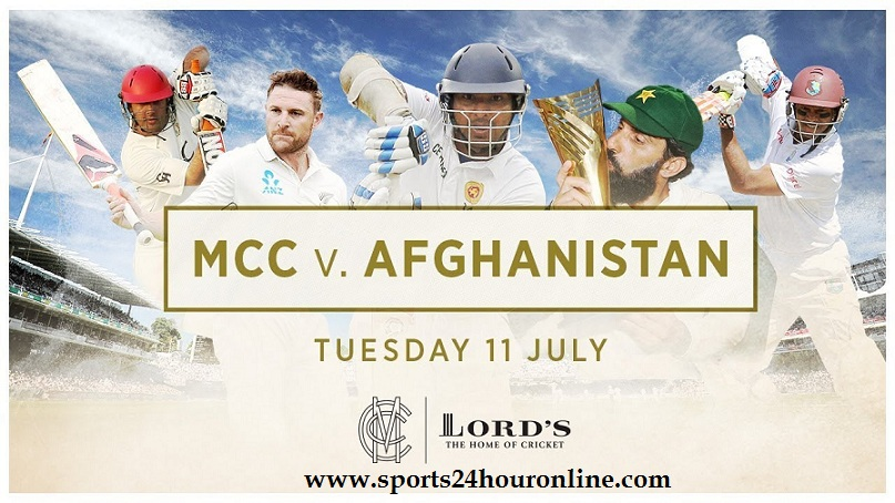 MCC vs Afg Today Live Streaming One Day Match 11 July 2017