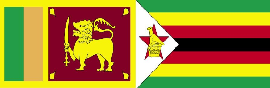 Today Live Match SL vs ZIM on Ten Sports and SLRC Channel Eye TV Channels