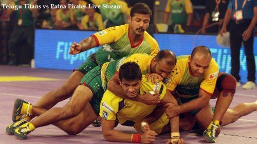 Telugu Titans vs Patna Pirates Live Stream