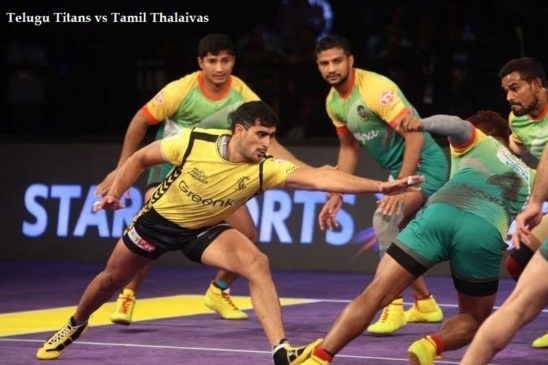 Telugu Titans vs Tamil Thalaivas Live Streaming