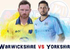 Warwickshire vs Yorkshire Live Streaming