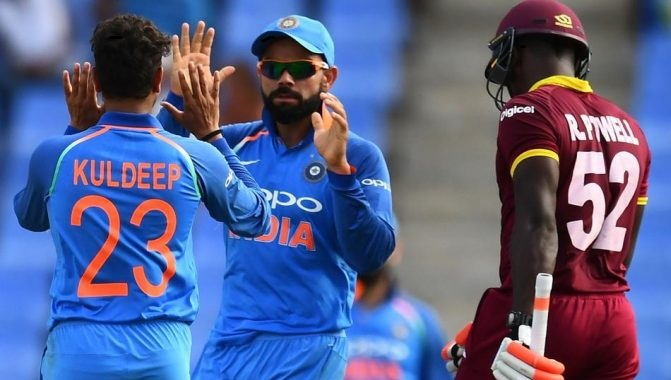 West Indies vs India 4th ODI Live Streaming Cricket Match, July 02, 2017