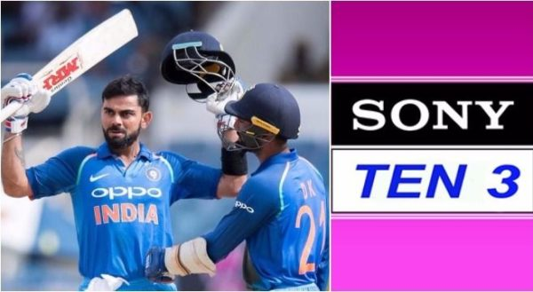IND vs SL Live Broadcast On Sony Ten 3