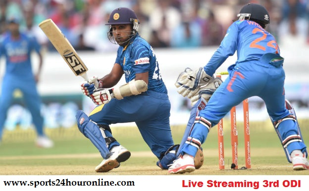 IND vs SL 3rd ODI Live Streaming Online 27 Aug 2017