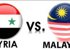 Malaysia vs Syria Live Football Match Preview