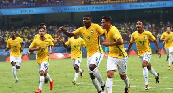 Brazil vs England Live Streaming FIFA U17 World Cup