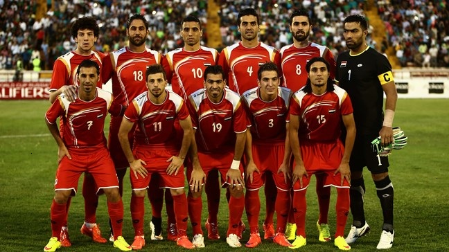 Iraq vs Syria live streaming