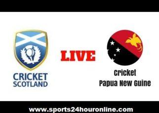 PNG vs Scotland Live Stream First ODI In UAE 2017