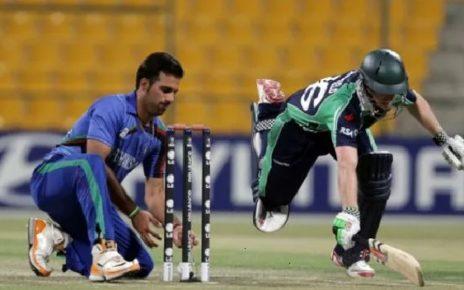 AFG vs IRE 1st ODI Live Score