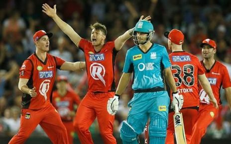 Network Ten Live Broadcast MLR vs BRH Today T20 Match - Big Bash League 2017-18