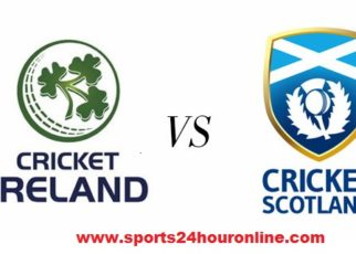 Ireland vs Scotland Live Streaming Third Match 16 January 2018