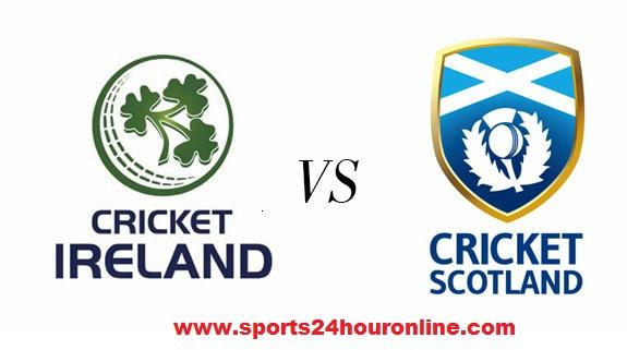 Ireland vs Scotland Live Streaming Third Match 16 January 2018