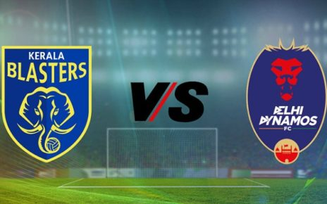 Kerala Blasters vs Delhi Dynamos Live Streaming Football Match Preview