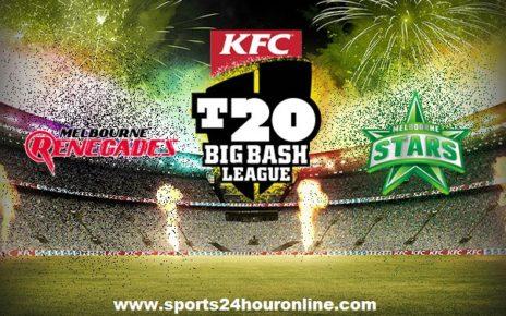 MLR vs MLS Live Streaming 26th Match Big Bash League 2017-18, TV Channels, Squads, Prediction