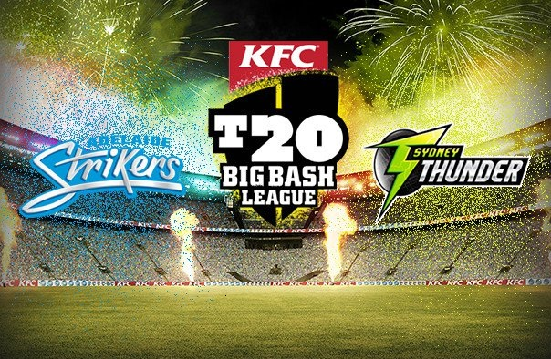 Network Ten Live Broadcast ADS vs SYT Match – Big Bash League 2017-18