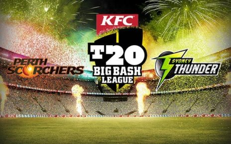 SYT vs PRS Live Streaming 25th Match BBL 2017-18, Official Broadcaster, TV channels - Sydney Thunder vs Perth Scorchers
