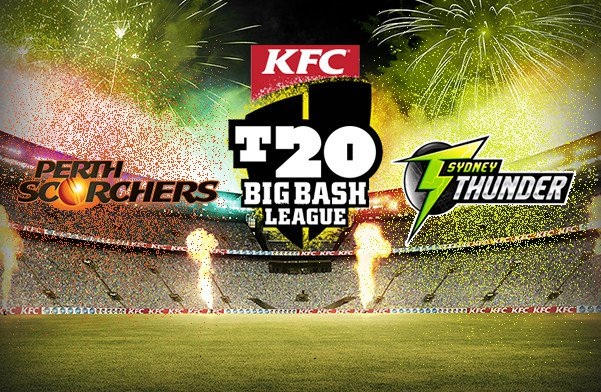 SYT vs PRS Live Streaming 25th Match BBL 2017-18, Official Broadcaster, TV channels – Sydney Thunder vs Perth Scorchers