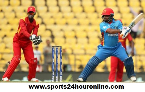 AFG vs ZIM 1st T20 Match - Afghanistan vs Zimbabwe in UAE 2018