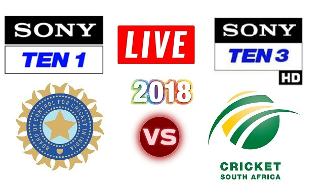 Sony Ten Live Broadcast India vs South Africa 3rd ODI
