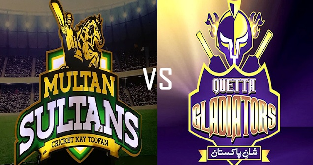 MS vs QTG Live Streaming 13th Match Preview PSL 2018 – Multan Sultans vs Quetta Gladiators