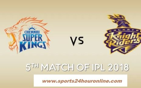CSK vs KKR Live Streaming 5th Match IPL 2018, TV Channels, Venue, Score