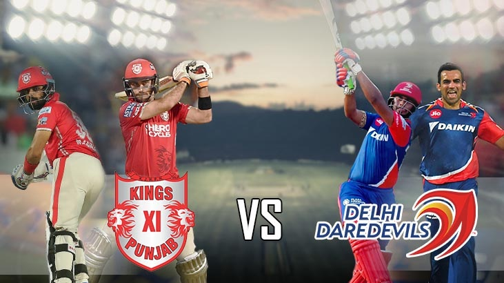 DD vs KXIP Live Streaming 22nd Match IPL 2018